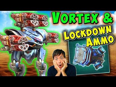 Max Vortex Spectre & Lockdown Ammo? War Robots Mk2 Fun Gameplay WR