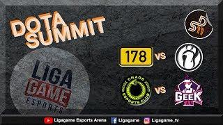 Geek Fam VS HellRaisers (BO3)   DOTA Summit 11 Group Stage Day 2