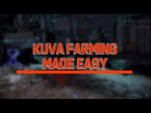 Warframe: Kuva Farming Made Easy [2018]
