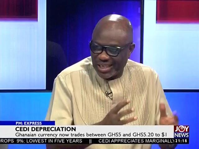 Cedi Depreciation - PM Express on JoyNews (13-2-19)