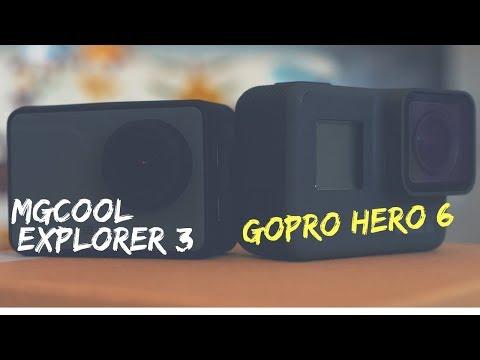 [TEST] Explorer 3 vs GoPro Hero 6. A tribute to MGCool in Native 4K