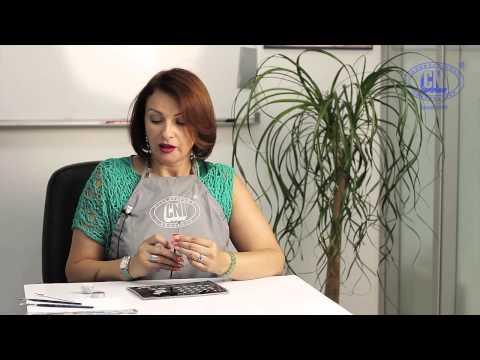 """Новинка от CNI! Мастер-класс по дизайну ногтей """"Одним взмахом"""" от Елены Морозовой."""