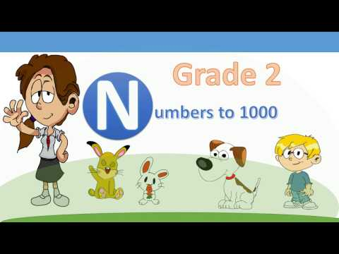 Grade 2 (Primary 2) Math -  Numbers to 1000