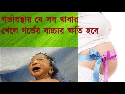 গর্ভাবস্থায় যে সব খাবার খেলে গর্ভের বাচ্চার ক্ষতি হবে ||| Bangla health tips for Pregnant Women