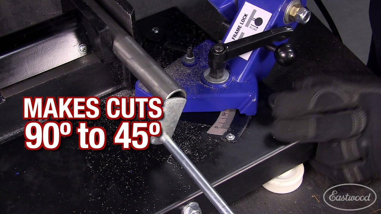 Essential Tools For Your Shop: Benchtop Bandsaw - Fast Accurate Cuts!  Eastwood