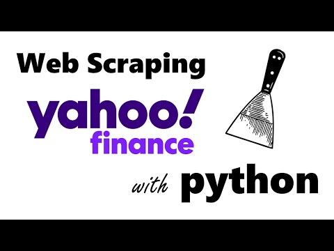 How To Scrape STOCKS And FINANCIALS From YAHOO! Finance With PYTHON