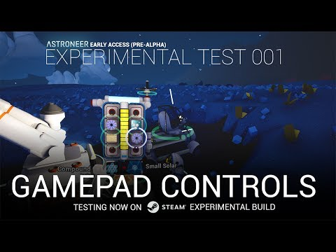 Experimental Gamepad Prototype Demo