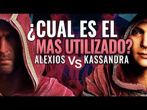 ¿ALEXIOS o KASSANDRA? ¿Cual es el PERSONAJE MÁS UTILIZADO en Assassin's Creed Odyssey? thumbnail