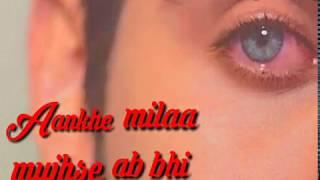 Ye Dil Kyun Toda Lyrics – Nayab Khan | New Sad Song  whatsapp satuts