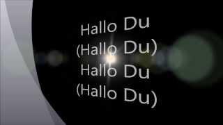 Sportfreunde Stiller - Hallo Du (Lyrics on screen)