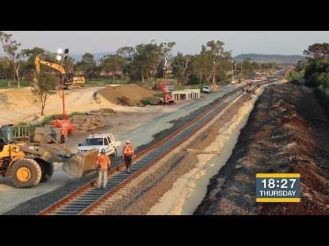 ARTC - Watermark Rail Works Time Lapse