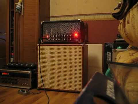 Homemade Guitar Electronics 15 watts tube amp - YouTube