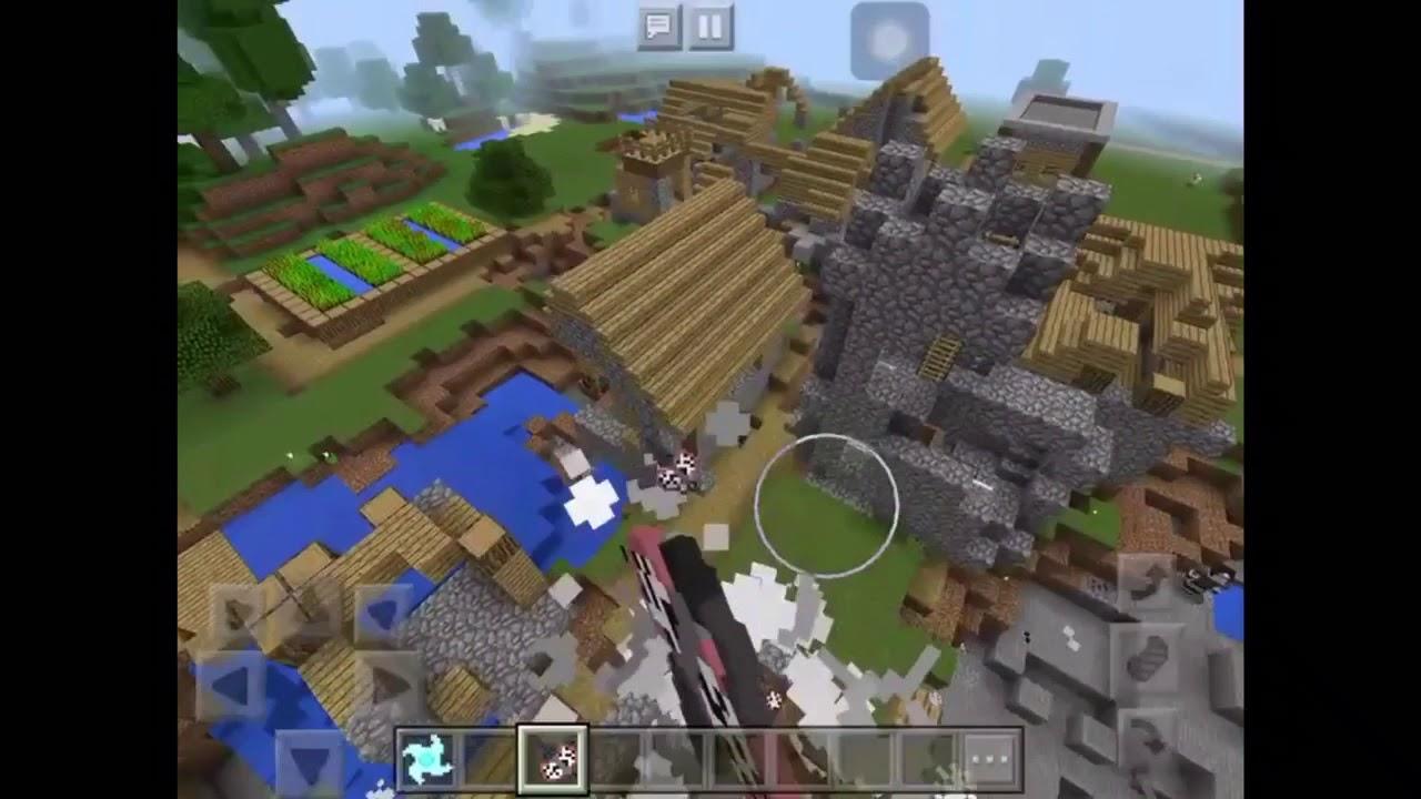 Chơi minecraft naruto #2 phá map
