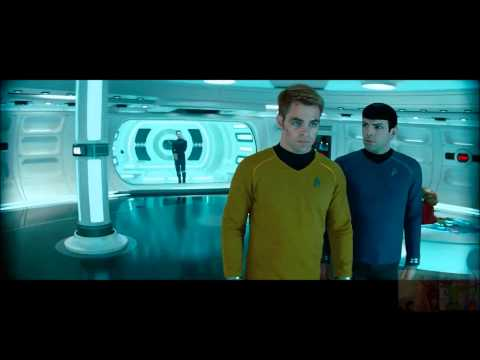 Star Trek Into Darkness - Khan Gives Blood and Taunts