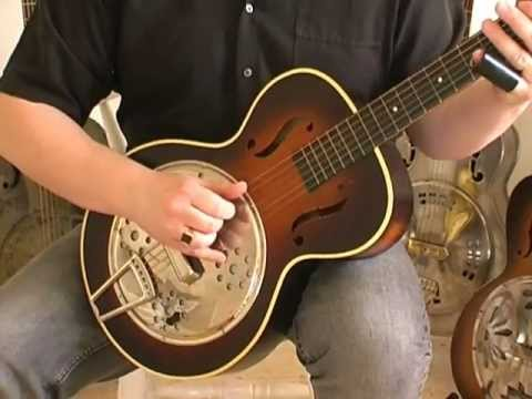 1930's Resonator Guitars - National vs. Dobro..