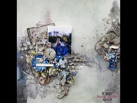 Step-by-Step Tutorial Mixed Media Layout ''Trust Your Heart'' For 49 And Market
