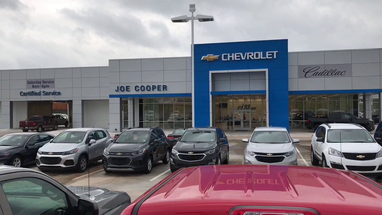 Hello Kim From Chad At Joe Cooper Chevy Cadillac In Shawnee Ok