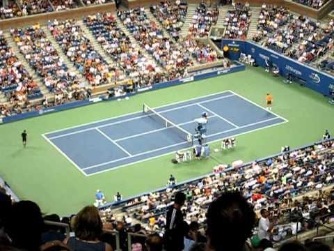 US Open Tennis 2010, New York, Nadal/Istomin Match Sept 3rd