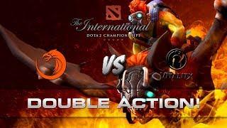Dota 2 TI7 - Double action!