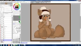 Урок покраски фри-лайнов в Paint Tool Sai
