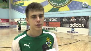 Р.Ананьев:  Сделали задел и контролировали игру. ДинаТВ, Дина. мини-футбол, футзал