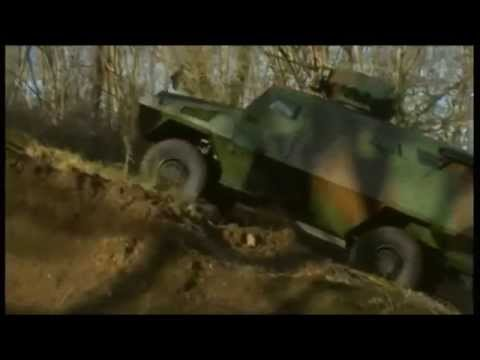 Bastion APC ACMAT armoured personnel carrier infantry vehicle France French Defence Industry.wmv