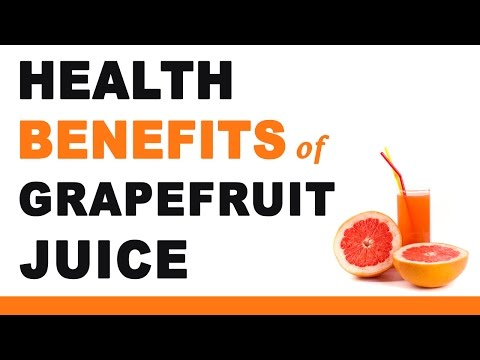 Grapefruit Juice Health Benefits