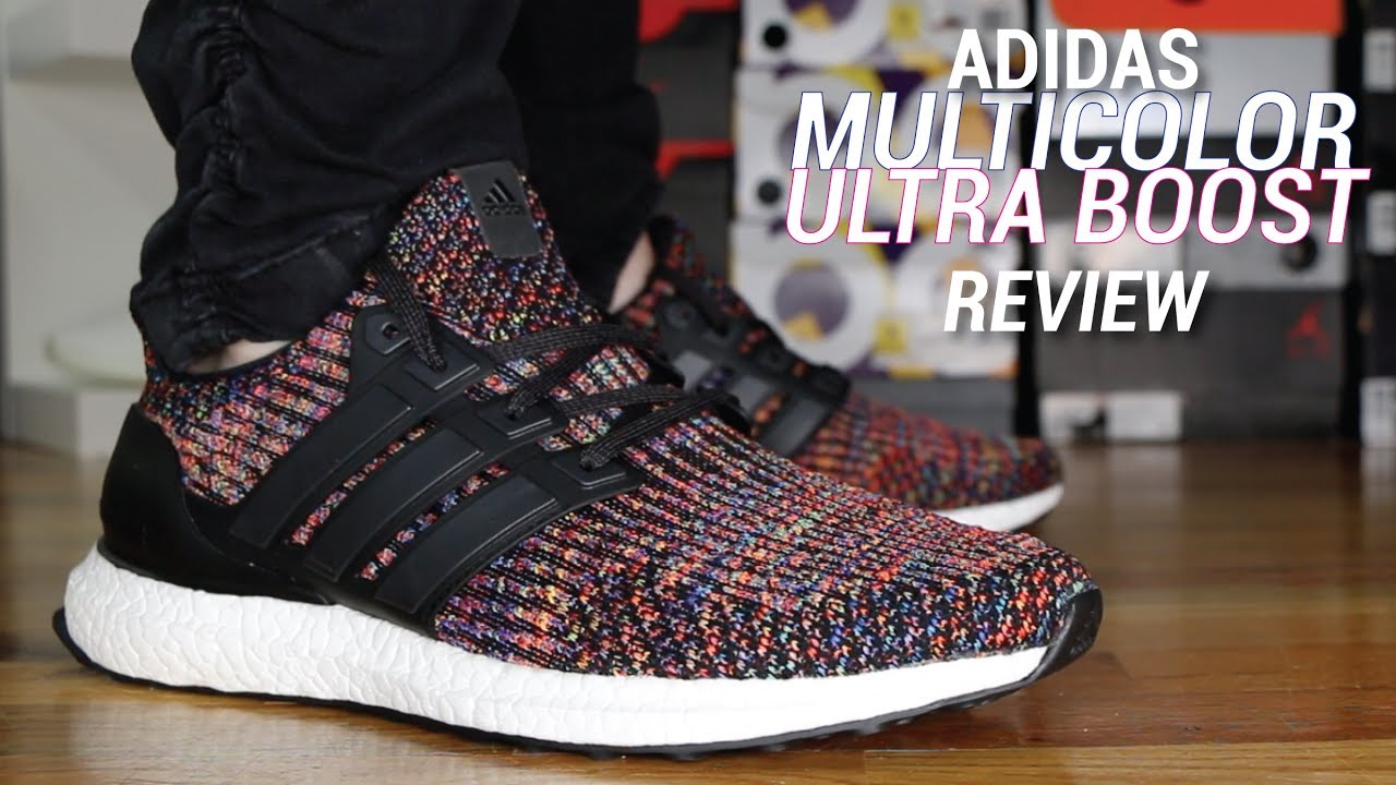 size 40 436c3 dd3ab ADIDAS ULTRA BOOST 3.0 MULTI COLOR REVIEW