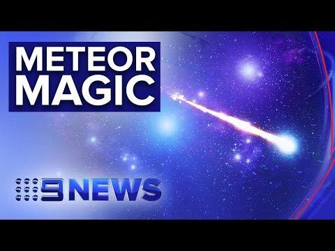 'Fireball' lights up the night sky above southern states | Nine News Australia
