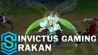 Invictus Gaming Rakan Skin Spotlight - Pre-Release - League of Legends