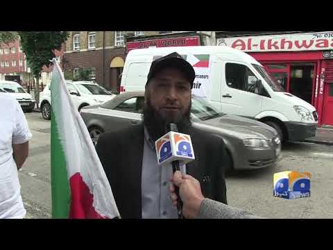 Jammu Kashmir Liberation Front introduces van advertising campaign in London