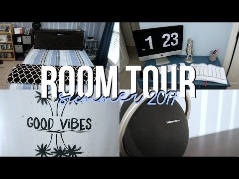 Men's Room Tour // Modern Tumblr Inspired Room