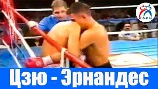 Костя Цзю против Анхеля Эрнандеса. Бокс. Бой №12.