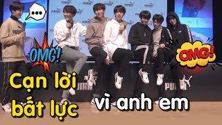 [BTS funny moments #28] CẠN LỜI, BẤT LỰC vì anh em =))) (Phần 1)
