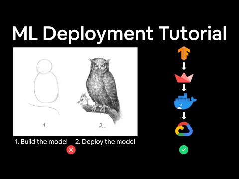 How to Deploy a Machine Learning Model to Google Cloud for 20% Software Engineers (CS329s tutorial)