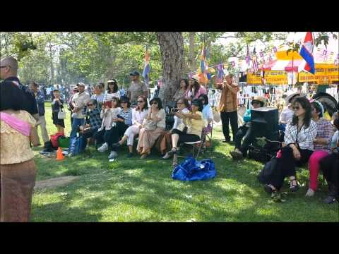 Khmer new year in Long Beach, CA 2014