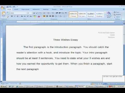 essay english
