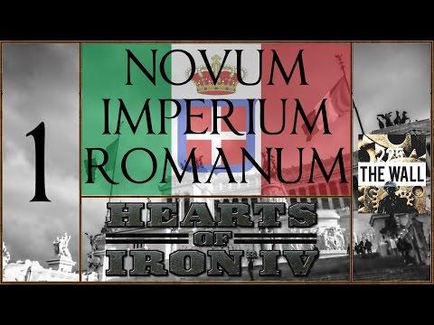 Novum Imperium Romanum - Hearts Of Iron IV Gameplay [ITA] #1- Panoramica Generale