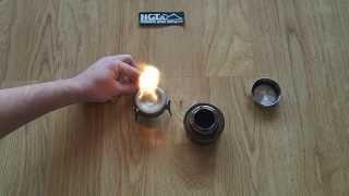 Vargo Titanium lighter and Triad alcohol stove epic fail ;-) thumbnail