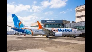 First Boeing 737 MAX Delivery to flydubai