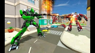 Multi Transforming Moto Robot Wars | Android Gameplay (Cartoon Games Network)