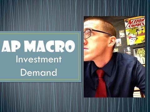 AP Macro: Investment Demand