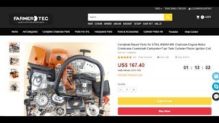 Download Holzfforma Farmertec G660 Chainsaw Unboxing MP3