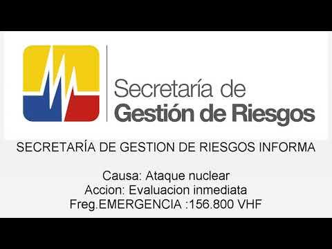 Ataque nuclear Ecuador xdxdxd