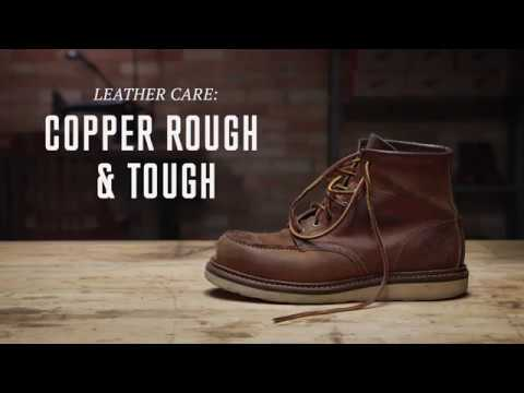 Red Wing Heritage - Copper Rough & Tough Leather Care