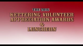 2016 Kettering Volunteer Recognition Banquet