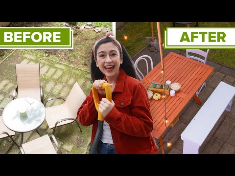 I Transformed This Backyard In 48 Hours
