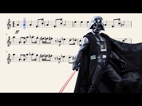 Imperial March for Bb Trumpet