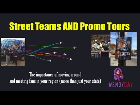 Street Teams and Promo Tours