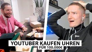 Justin reagiert auf 100.000€ Rolex Shopping.. | Reaktion